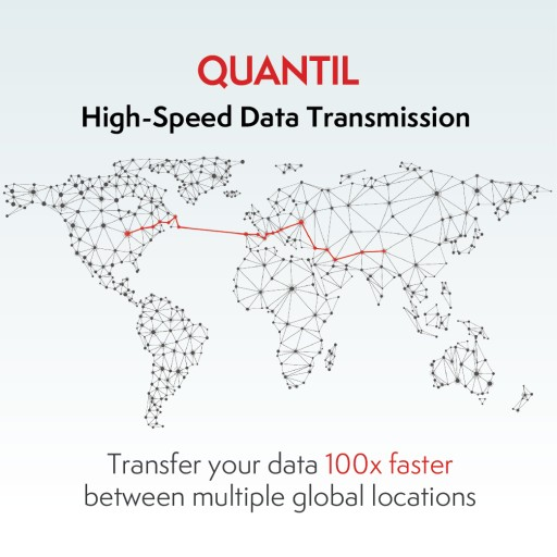 QUANTIL launches High-Speed Data Transmission to solve the challenge of long-distance data transfer